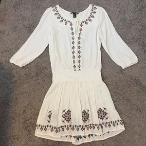 Forever 21 Embroidered Boho Dress